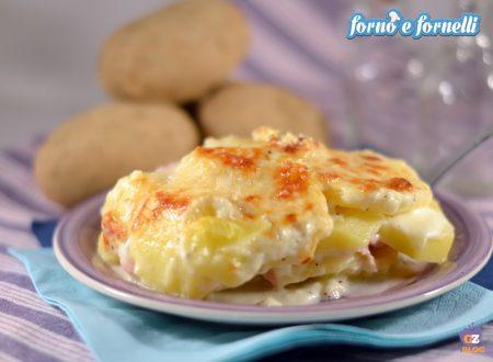 Parmigiana di patate in bianco