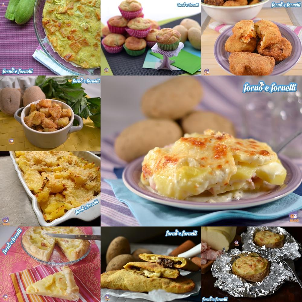 ricette con le patate forno e fornelli