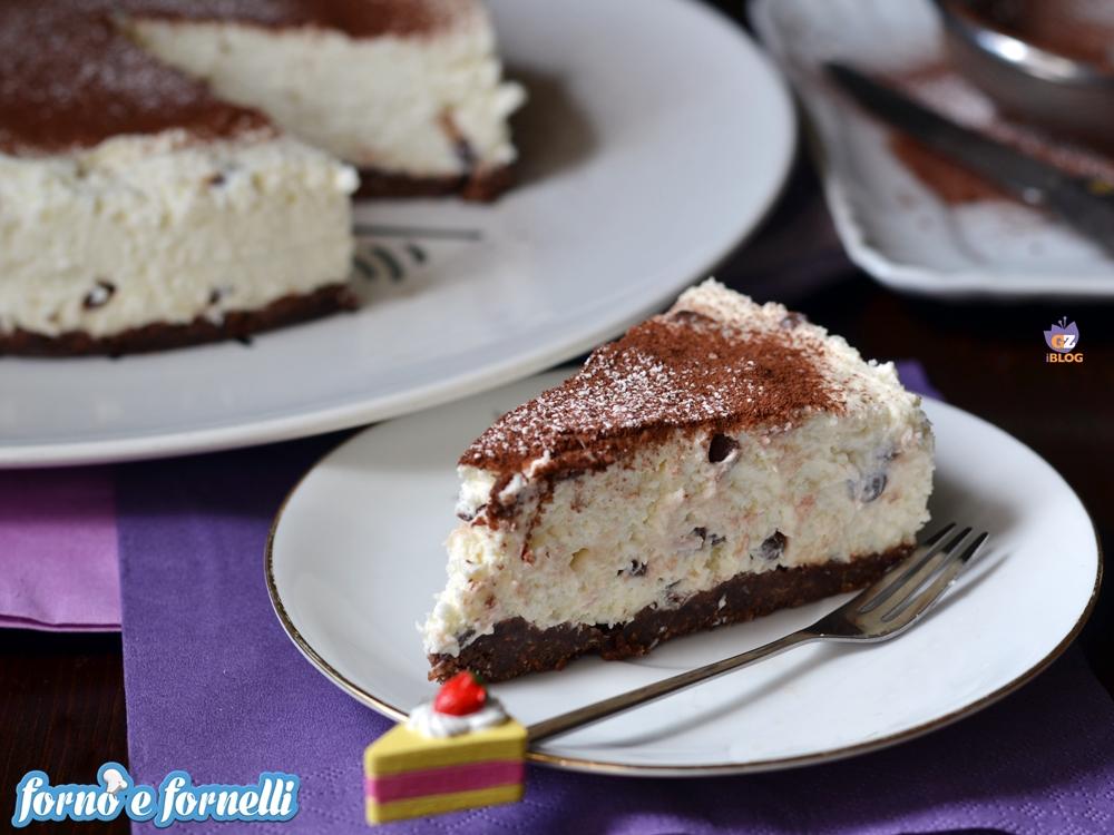 Cheesecake vaniglia cioccolato
