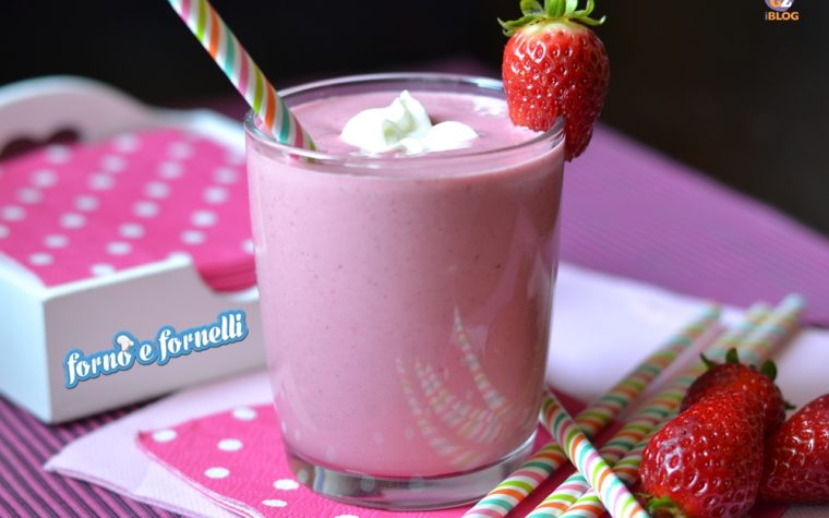 Smoothie light alle fragole