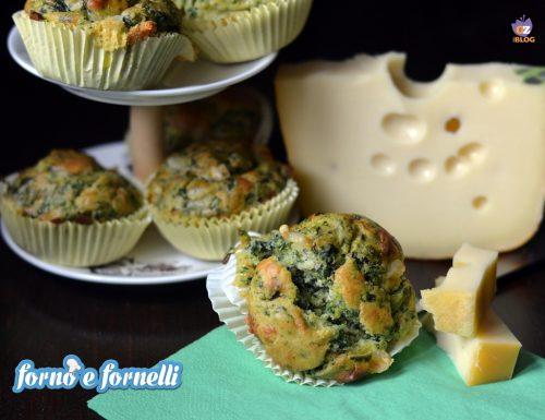 Muffin ricotta spinaci