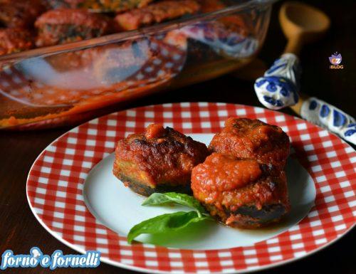 Melanzane ripiene non fritte e senza carne