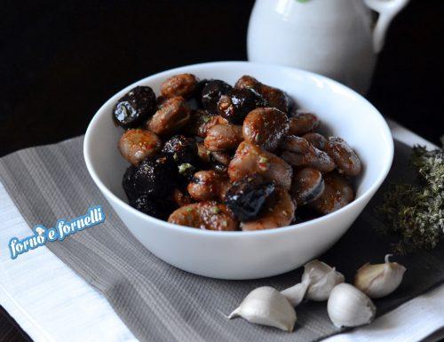 Fave e olive, ricetta semplice