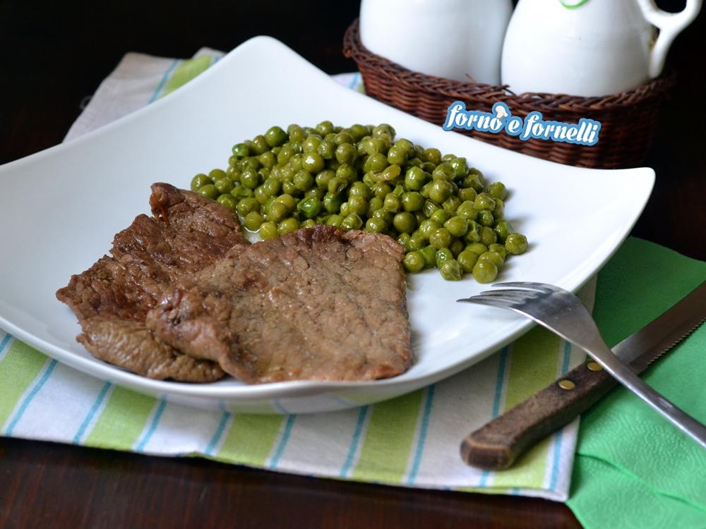 Carne con piselli, un secondo piatto gustoso