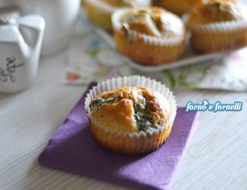 Muffin broccoli pecorino