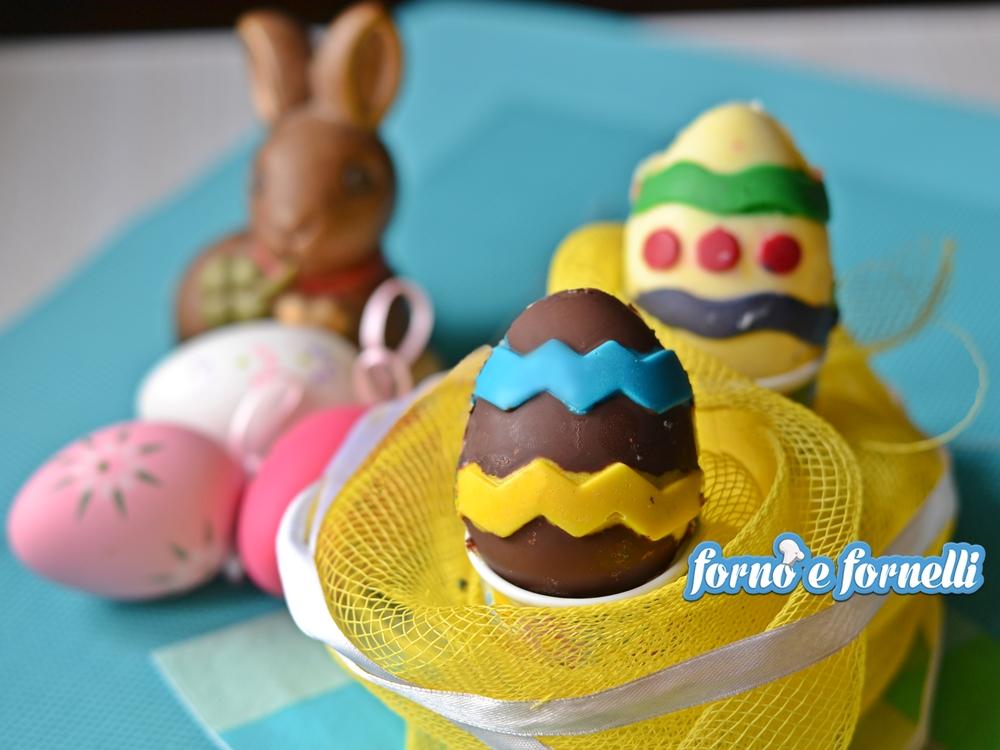 Uova di cioccolato fatte in casa divertenti e molto semplici - Uova di pasqua in casa ...
