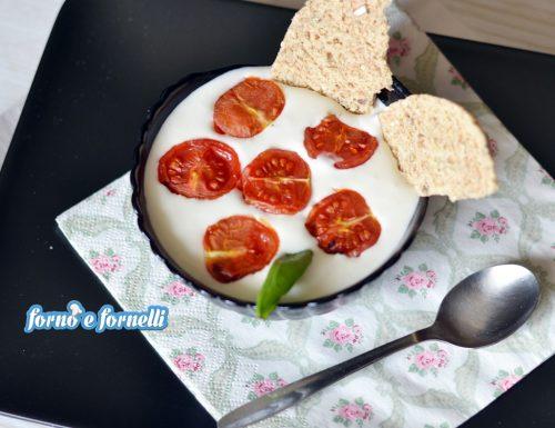 Crema di burrata con pomodorini confit
