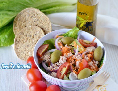 Insalata tonno olive