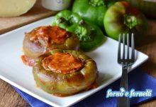 Peperoni ripieni senza carne e non fritti