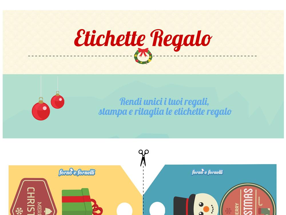 Etichette Per Regali Di Natale Da Stampare.Etichette Da Stampare Per I Regali Di Natale Forno E Fornelli