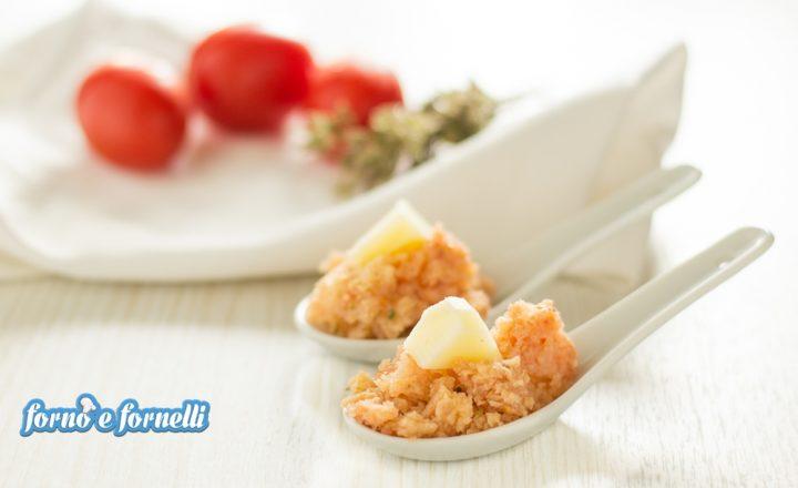 Panzanella al cucchiaio