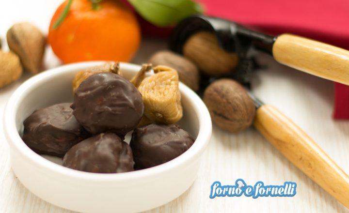 Fichi secchi al cioccolato