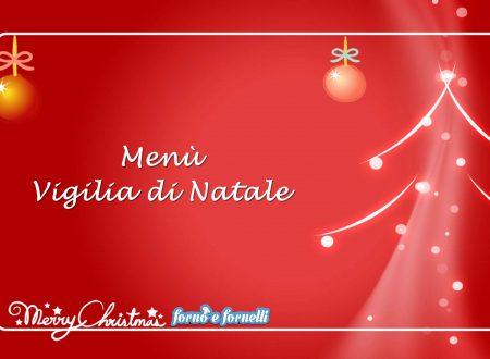 Menù Vigilia di Natale
