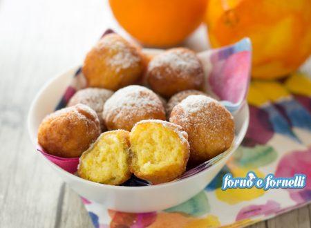 Castagnole all'arancia pronte in 15 minuti