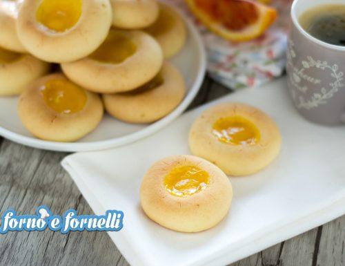 Biscotti senza burro all'arancia