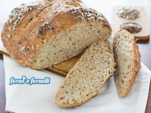 Pane ai 5 cereali con lievito madre