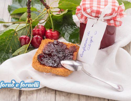 Confettura di ciliegie con poco zucchero e senza addensanti