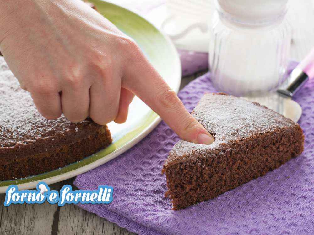 torta al latte caldo al cacao chocolate hot milk sponge cake