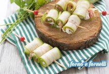 Spiedini di zucchine senza cottura