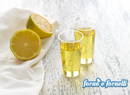 Ricetta limoncello fatto in casa