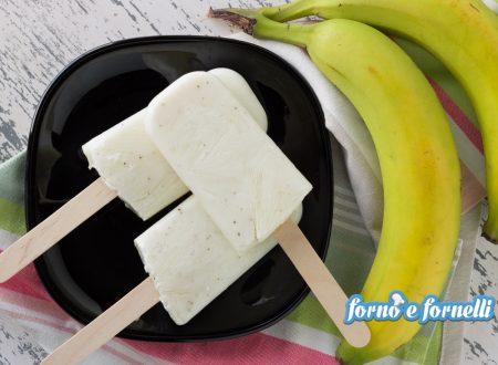 Gelato alla banana senza gelatiera