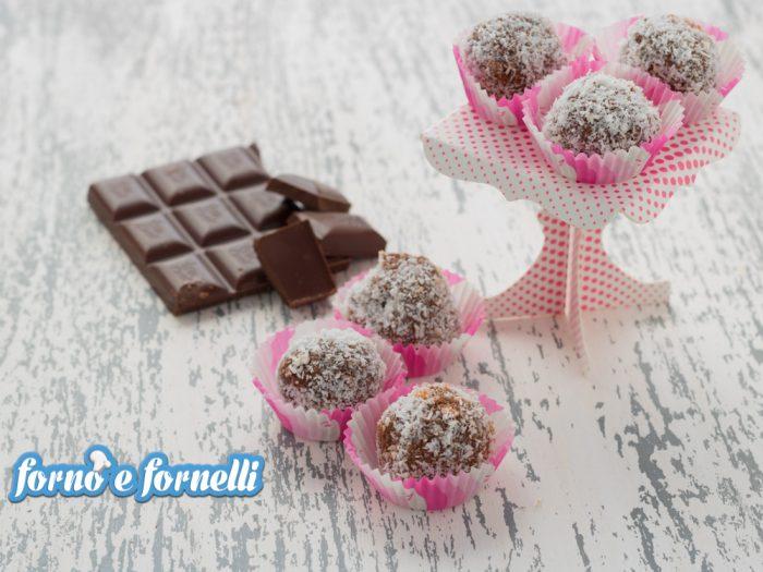 tartufini gelato al cioccolato