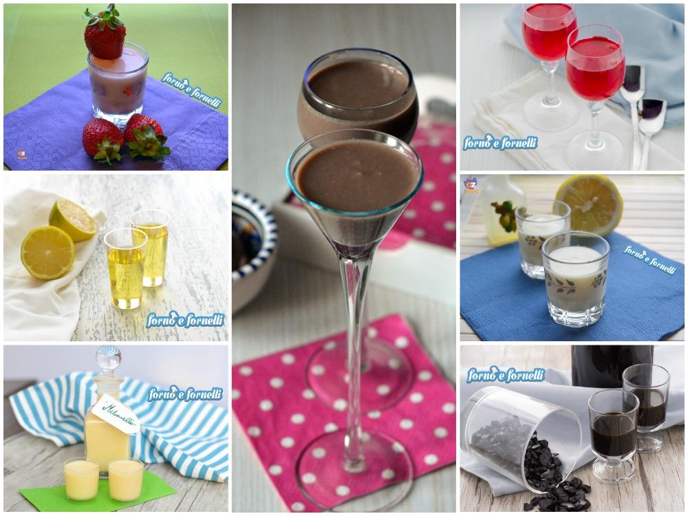 Liquori fatti in casa, raccolta di ricette