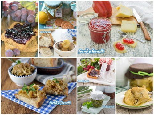 Ricette conserve fatte in casa, dolci e salate