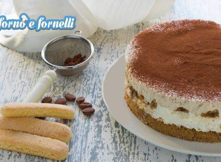Cheesecake tiramisù senza uova crude e senza cottura