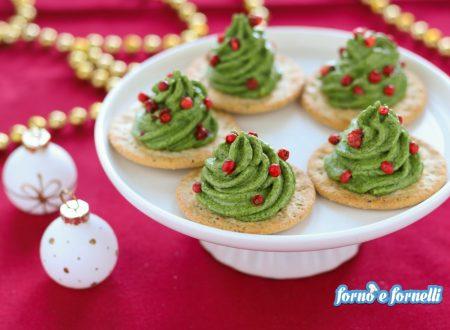 Alberelli di Natale di mousse