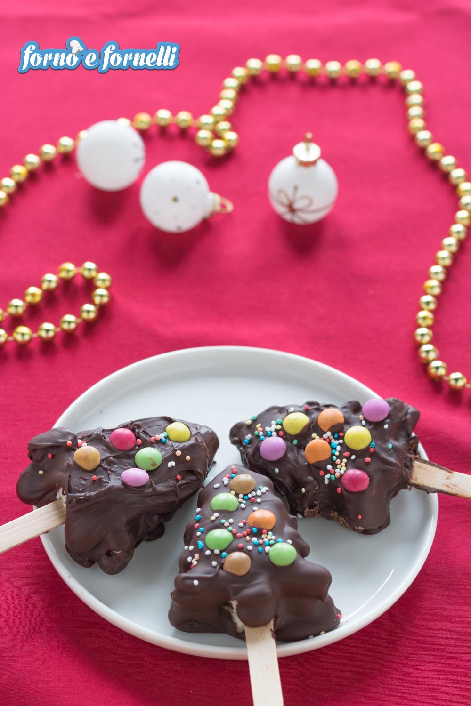 Alberi di cioccolato verticale