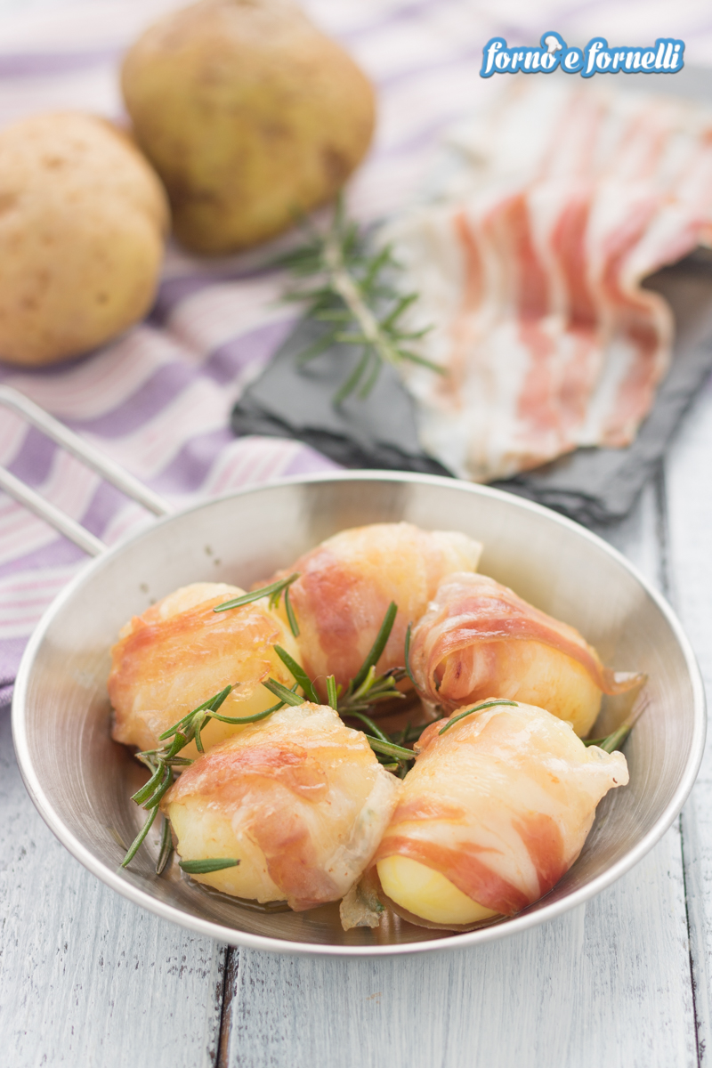 bocconcini di patate e pancetta in padella (2)