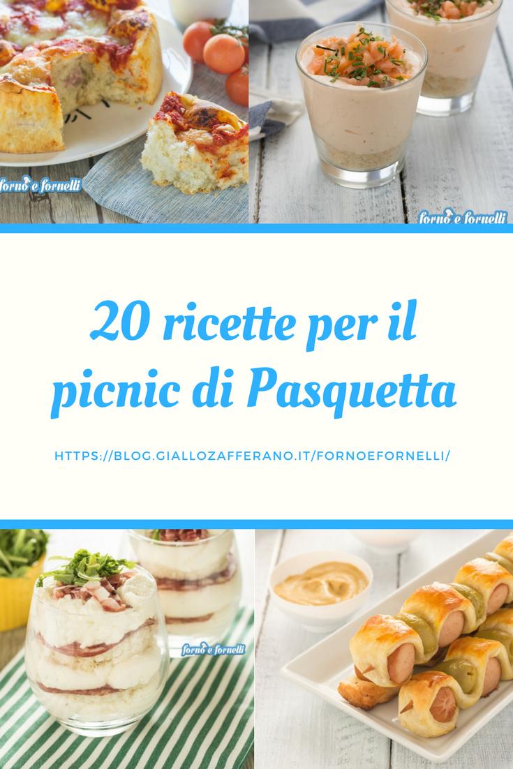 20 ricette per il picnic di Pasquetta