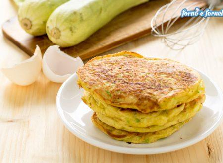 Pancake di zucchine, soffici frittelle salate