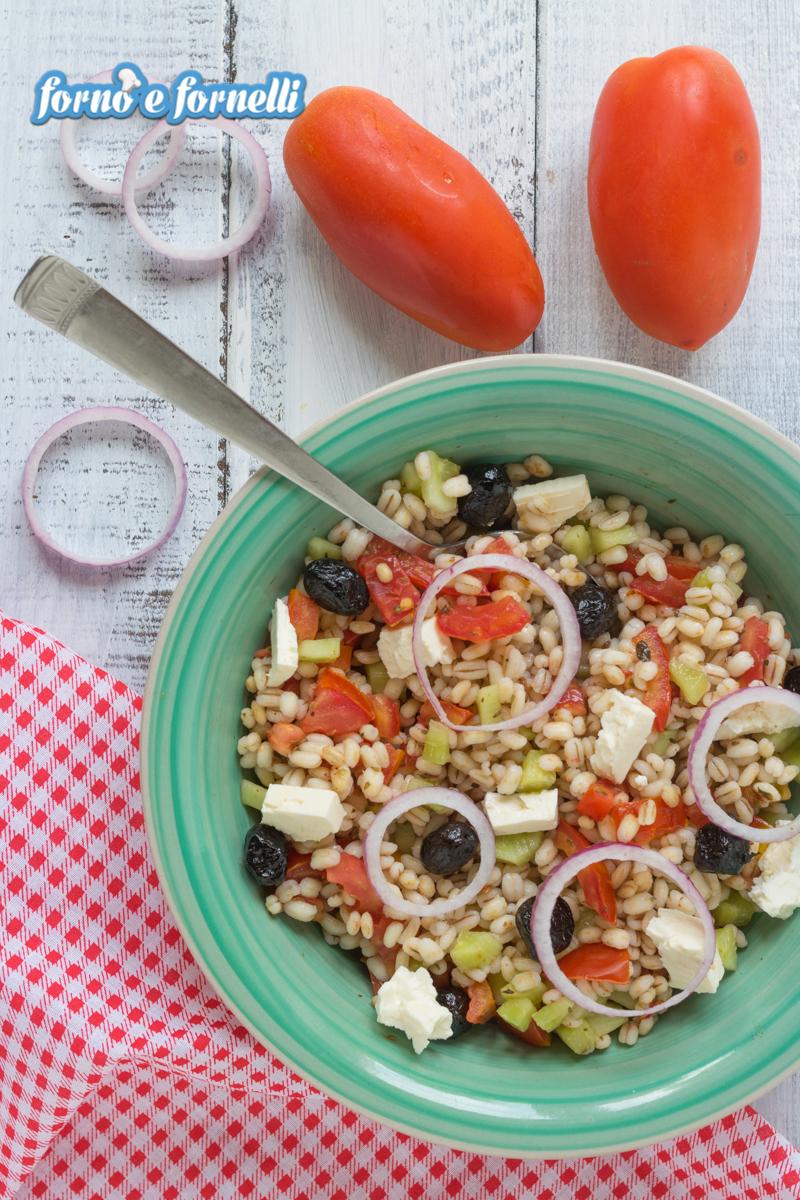 insalata di orzo alla greca