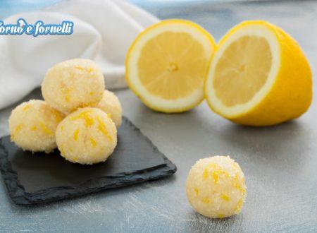 Tartufi al limone