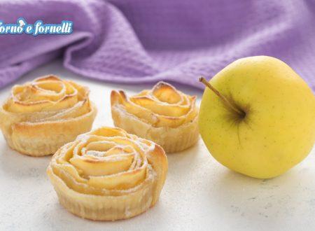 Roselline di mele e pasta sfoglia
