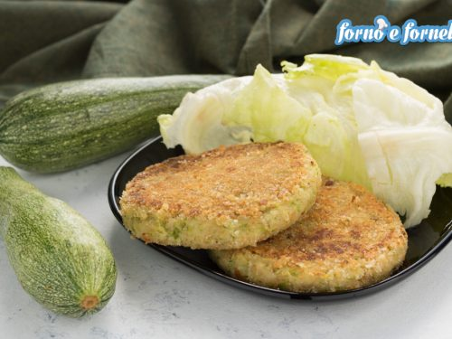 Burger di zucchine