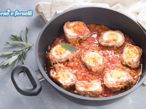 Involtini di carne con uova