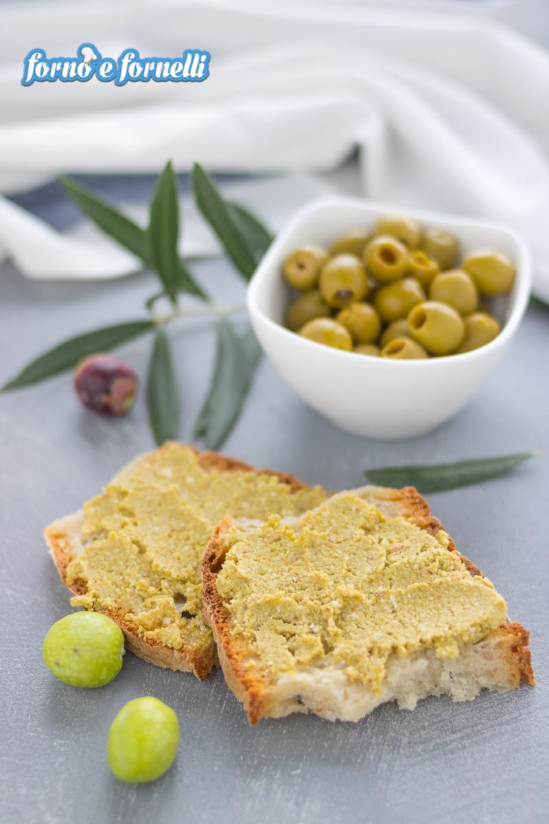 crema di olive spalmabile