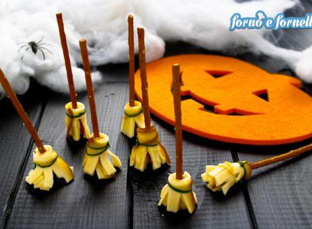 Scopa della strega per Halloween