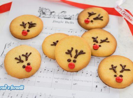 Biscotti renna di Babbo Natale