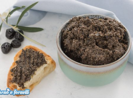 Tapenade di olive nere, un patè di olive ricco