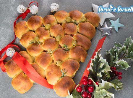 Torta danubio di Natale