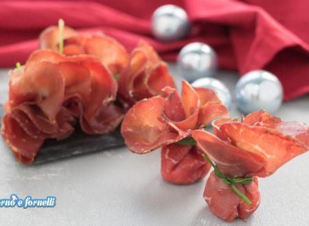 Fagottini di bresaola ripieni