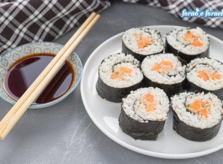 Come fare il sushi a casa, ricetta facilitata