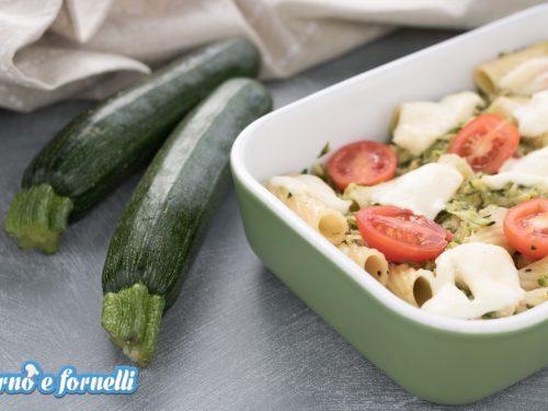 Pasta zucchine e tonno al forno