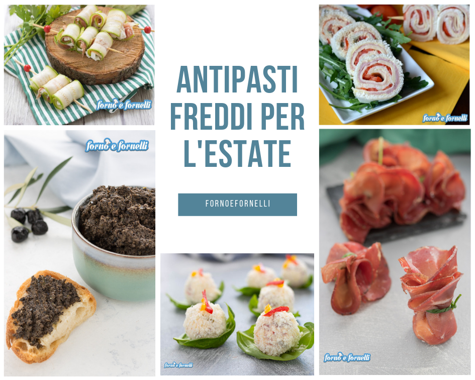 antipasti freddi per l'estate