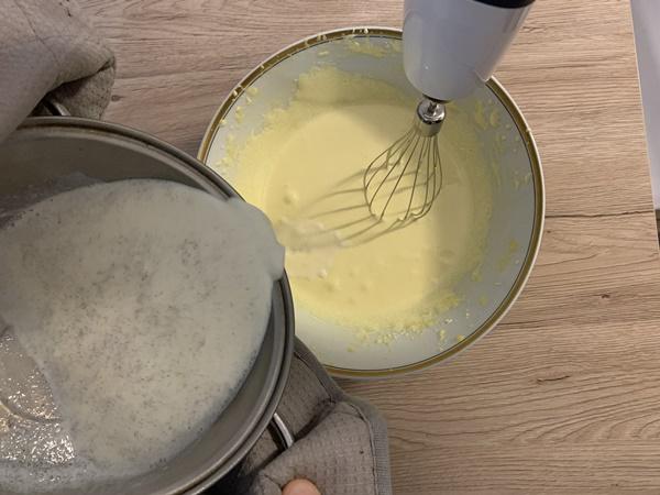 crema inglese preparazione