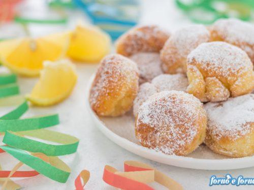 Castagnole di Carnevale al limone